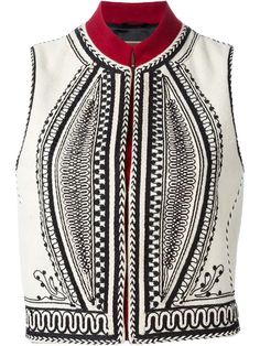 Shop Etro embroidered gilet in Russo Capri from the world's best independent boutiques at farfetch.com. Shop 300 boutiques at one address.