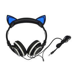 Kawaii Light Up Cat Ears Headphone SD01766