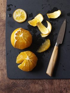 How To  Section an Orange  from familycircle.com #myplate #fruit