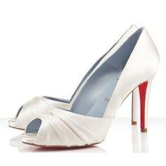 b10835fe33a Chaussure Louboutin Pas Cher Pompe Matrinana 100mm Blanc  shoesforwomen  Boutique Louboutin