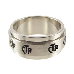Spinner Wide Band CTR Ring
