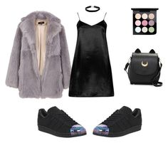 """#32"" by christiana-theodorou on Polyvore featuring adidas, TIBI, MAC Cosmetics, Miss Selfridge and Boohoo"