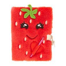 Happy Plush Strawberry Diary