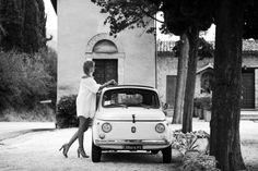 Fiat 500 in Assisi