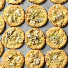 Coconut, Lime and Pistachio Cookies Omit coconut, use vanilla or pistachio pudding mix instead of coconut. Summer Cookies, Holiday Cookies, Baby Cookies, Heart Cookies, Valentine Cookies, Easter Cookies, Birthday Cookies, Picnic Desserts, Fall Desserts