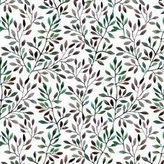 Tapeta Pixerstick Akvarel bezproblémové vzorek s větví. podzim pozadí ✓ Snadná instalace ✓ 365 denní záruka vrácení peněz ✓ Procházejte ostatní vzory z této kolekce!
