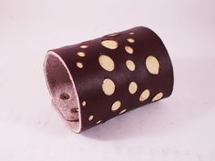 FREE SHIPPING Handmade women's bracelet from beige by LEATHERELY