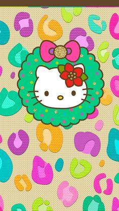 Navidad Hello Kitty, Hello Kitty Christmas, Sanrio Hello Kitty, Christmas Cats, Cute Christmas Wallpaper, Holiday Wallpaper, Hello Kitty Backgrounds, Hello Kitty Wallpaper, Best Iphone Wallpapers