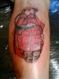 Chau rolling Stones tattoo