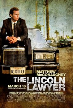 The Lincoln Lawyer, books turned movies 2011
