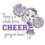 Cheer t-shirt, any cheerleading enthusiasts out there?