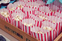 no american party without popcorn