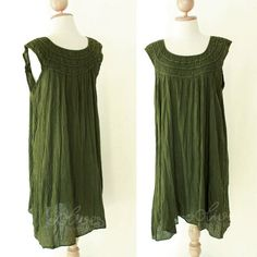 cotton dress $34