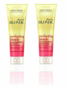 John Frieda® Sheer Blonde® Everlasting Blonde® Colour Preserving Shampoo and Conditioner