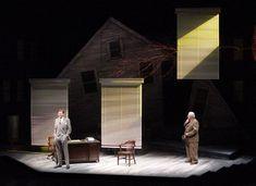 Death of a Salesman. Set design by Erhard Rom.   Theatre ...