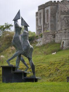 Lynn Chadwick Sculpture Park, Stroud, Stairs IV