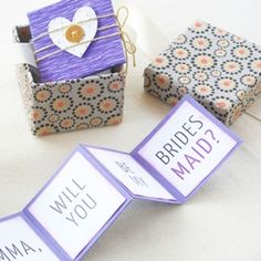 Pop the question to your bridesmaids in a way they won't forget! (+ free printable)
