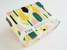 fika(フィーカ) ドロンマル プレーン Food Packaging Design, Box Packaging, Fika, Branding, Souvenir, Crates, Brand Management, Identity Branding