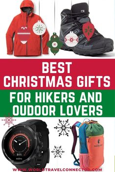Looking for the best Christmas gifts for hikers? Here is the ultimate hiking gift guide to top hiking essentials, the best hiking accessories, best hiking gear, best hiking gadgets and top cool gifts for hikers. Christmas Gifts for Hikers I Gifts for Hikers Men I Gifts for Hikers for Women I Best Gifts for Hikers I Unique Gifts for Hikers I Fun Gifts for Hikers I Cool Gifts for Hikers I Small Gifts for Hikers I Good Gifts for Hikers I Gifts for Hikers and Campers I Great Gifts for Hikers Christmas Travel, Christmas Vacation, Christmas Fun, Travel Hacks, Travel Advice, Travel Guides, Hiking Gifts, Hiking Gear, Vacation Packing