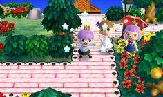 Animal Crossing: New Leaf QR Code Paths Pattern, junetown: