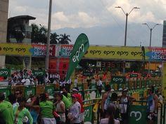 Maratón de las flores 2014. Medellín