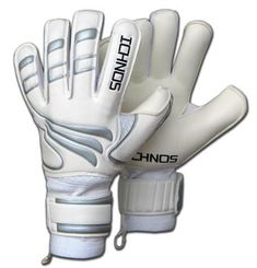 Ichnos Efis Evo adult size football goalkeeper gloves with protective bars