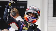 Red Bulls Daniel Ricciardo pilots Infinity to win in 2014 vHungarian Grand Prix.  Red Bull's Daniel Ricciardo wins Hungarian Grand Prix.