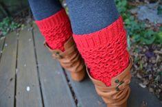 Crochet pattern : lacy leg warmers by vicarno on Etsy