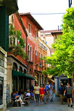 VENICE, ITALY- Strolling the lovely alleys in the non-touristy areas