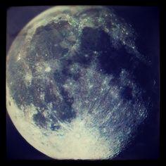 La Luna de mis Noches Azules #marchphotoaday Day 23: #moon - @nochesazules | Webstagram