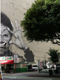 Street Art, Los Angeles Ca., Artist: JR