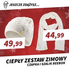 👉Czapka zimowa Reebok => http://bit.ly/2hnVZpN 👉Szalik zimowy Reebok => http://bit.ly/2hyPkcU