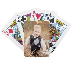 Your Own Photo Playing Cards. It's customizable!