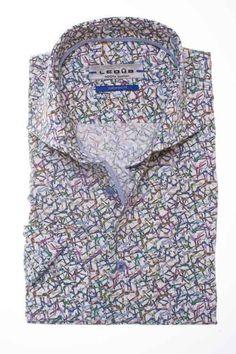 Ledub shirt Tailored fit 0135737.101.130.00