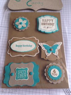 Stampin' Up!® card candy made by Kelli's Kards http://www.kelliskards.blogspot.com.au