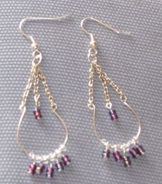 chandelier beaded earrings project