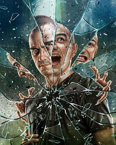 Upcoming new Film in 2019 A Sequel to both & by James Mcavoy, Keanu Matrix, Split Movie, Guitar Hero, Cool Mirrors, Bruce Willis, Chef D Oeuvre, Arte Horror, Cultura Pop