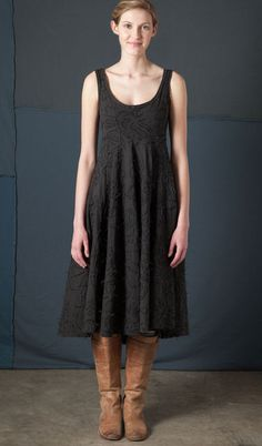 alabama_chanin_whispering_rose_knee_length_tiered_dress