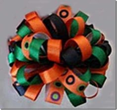 A pop bow by Moore's Mischief on Fabric Bows and More