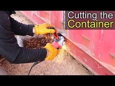 Cut Open Container - YouTube