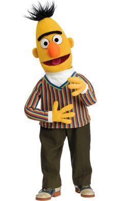 Grover and Bert have always been my favorite muppets! Bert Sesame Street, Sesame Street Muppets, Jim Henson, Pet Pigeon, Elmo World, Bert & Ernie, Fraggle Rock, The Muppet Show, Miss Piggy