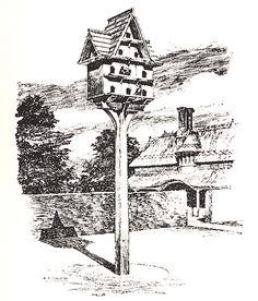 antique dovecote   Antique dovecote pigeon house