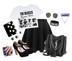 """""""Concert/Trend Setter"""" by hanakdudley ❤ liked on Polyvore"""