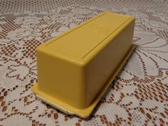 Vintage Tupperware Butter Dish  -  Tupperware Butter Keeper on Etsy, $8.95