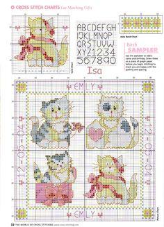 Gallery.ru / Фото #14 - The world of cross stitching 084 май 2004 - WhiteAngel