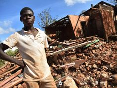"""""""Following Hurricane Matthew in Grand Anse alone there were 66000 houses destroyed and a further 20000 badly damaged according to Unicef."""" As the death count after Hurricane Matthew approaches 900 and reports of deadly cholera outbreaks begin to surface Haitians have sent out desperate pleas for help."""