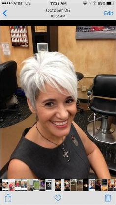 best short haircuts for women 2019 page 19 - kurzhaarfrisuren Short Hair Cuts For Women, Short Hairstyles For Women, Hairstyles Haircuts, Short Hair Styles, Short White Hair, Short Sassy Haircuts, Haircut Short, Haircut Styles, Choppy Hair