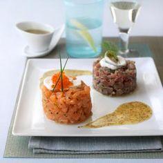 H. Forman & Son Salmon & Tuna Tartare | £7.95