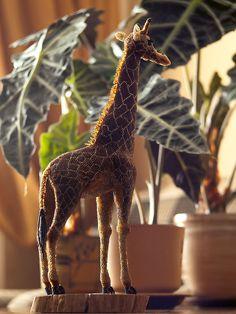 Жирафик | biser.info - Бисер и бисероплетение