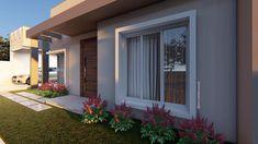 Fachadas de Casas Pequenas: 50 Ideias, Dicas e Projetos incríveis! Modern House Plans, Modern House Design, Balcony Design, House Goals, My Dream Home, My House, Outdoor, Home Decor, Instagram Blog